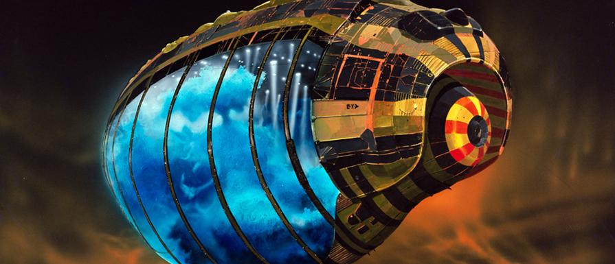 Concept Art Sci Fi Alien Landscape