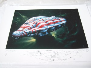 Example of Special Edition print