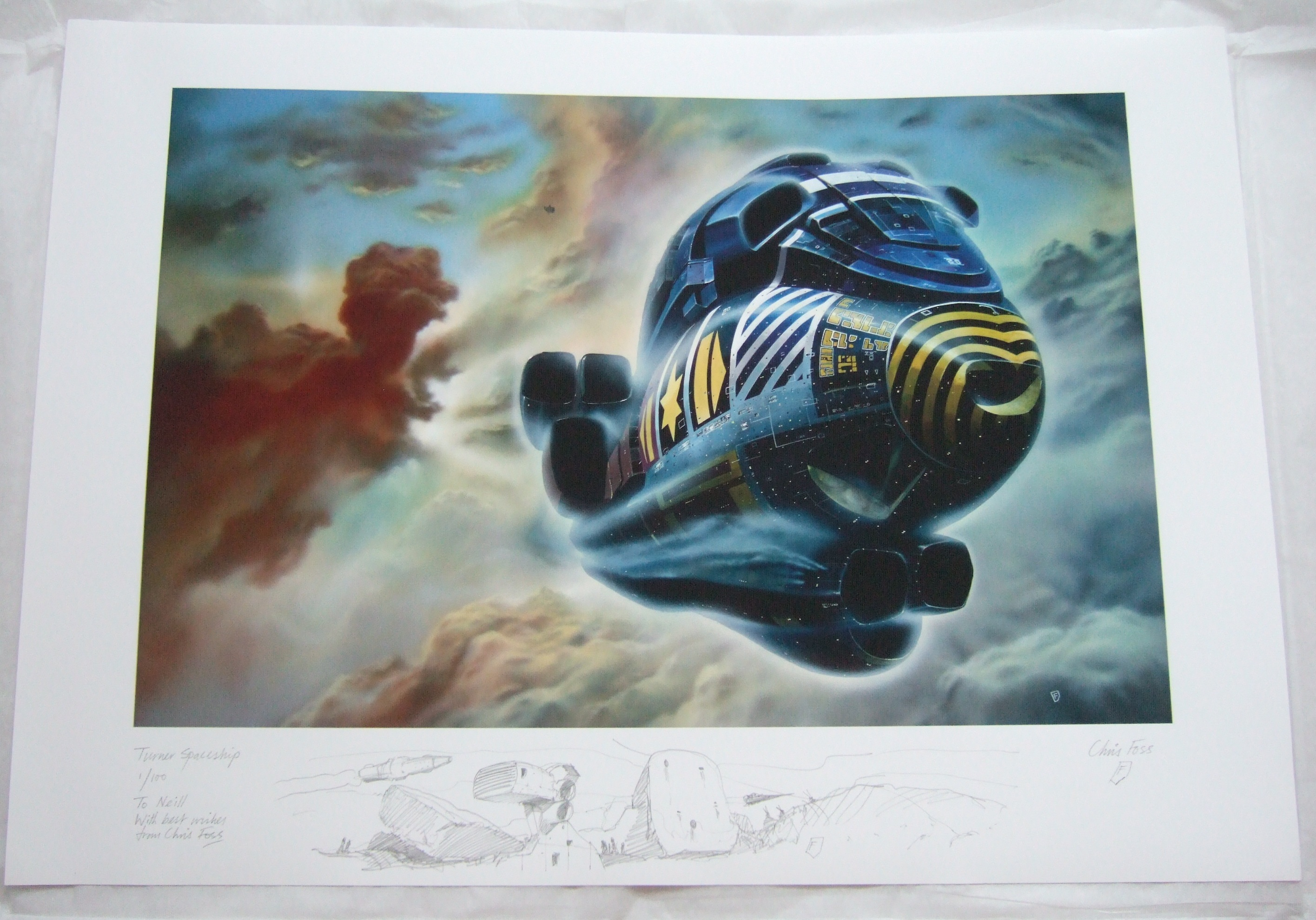 Turner Spaceship for Neill