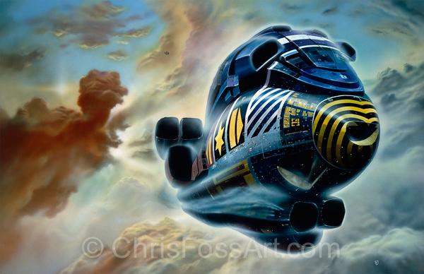 Turner Spaceship